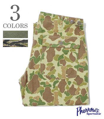 PHERROW'S フェローズ ベイカーパンツ|ファーティングパンツ『ユーティリティパンツ』【アメカジ・ワーク】PUPT1(Other pants)(std-workpants-pherrows)