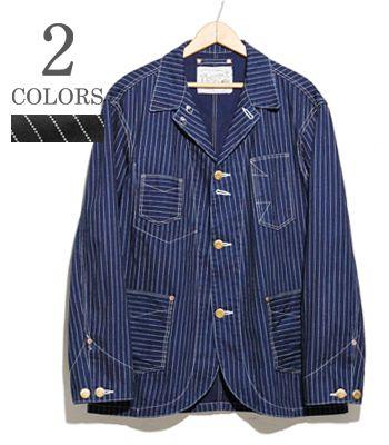 PHERROW'S フェローズ ウォバッシュストライプカバーオール『WABASH COVERALL』【アメカジ・ワーク】555CA(Other jacket)(std-cajk-pherrows)