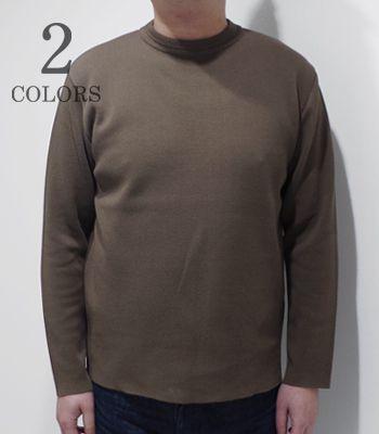 BARNS バーンズ ミラノリブ クルーネック セーター『MILANO RIB SAILOR SWEATER』【アメカジ・カレッジ】BR-8240(Cardigan & Sweater)