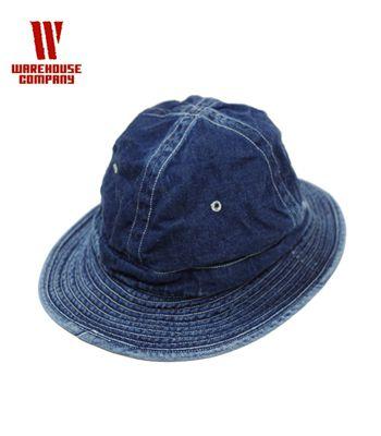 12b4dac1 WAREHOUSEware house metro hat | USED processing (body) | Denim army hat