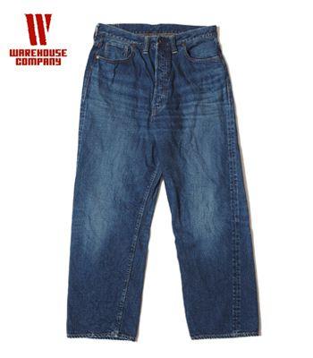 WAREHOUSE 2nd hand ウエアハウス セコハン|ジーンズ|USED WASH|12oz|大戦|モンロー・デニム『2ND-HAND Lot.70501SXX』【アメカジ・ワーク】70501SXX(Denim)(std-jeans-warehouse)