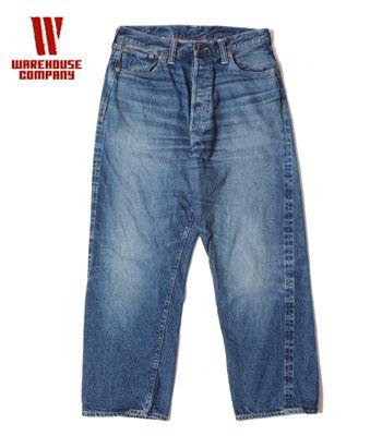 WAREHOUSE 2nd hand ウエアハウス セコハン|ジーンズ|USED WASH|12oz|30'sモデル『2ND-HAND Lot.70201XX』【アメカジ・ワーク】70201XX(Denim)(std-jeans-warehouse)