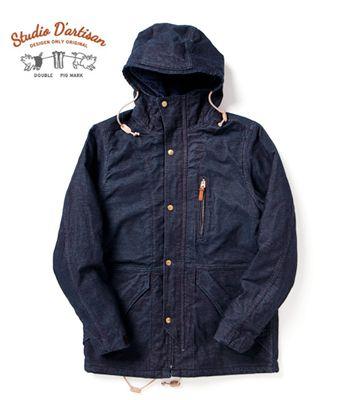 STUDIO D'ARTISAN ステュディオダルチザン デニム|キルティング|フィールドジャケット『3WAY INDIGO FIELD JACKET』【アメカジ・ワーク】4484(Other jacket)