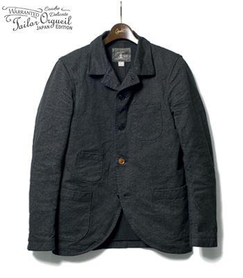 ORGUEIL オルゲイユ 19世紀初頭のクラシカルなサックジャケットを現代風にアレンジ『Sack Jacket』【アメカジ・ワーク】OR-4012(Other jacket)(std-cajk-orgueil)
