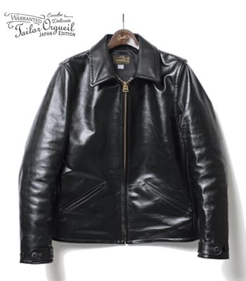 ORGUEIL オルゲイユ ホースハイド|ライダース|スポーツジャケット『Horse Leather Single Riders Jacket』【アメカジ・ワーク】OR-4081(Leather jacket)(std-lj-orgueil)