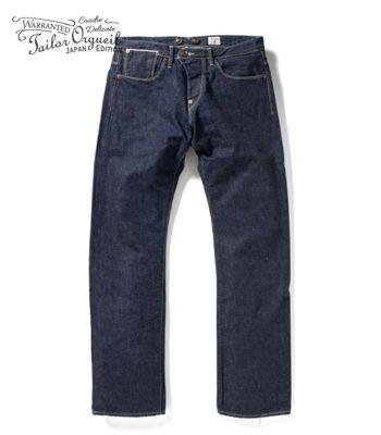 ORGUEIL オルゲイユ 13oz.セルビッジデニム|テイラージーンズ『Tailor Jeans』【アメカジ・ワーク】OR-1001(Denim)(std-jeans-orgueil)