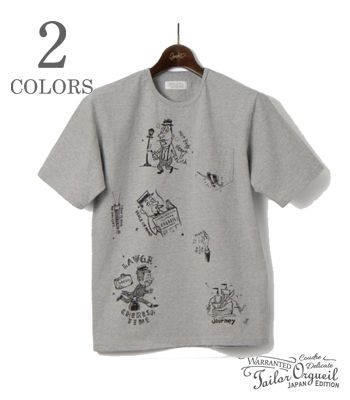 ORGUEIL オルゲイユ 半袖 クルーネック プリント ポケTEE『YOU ONLY LIVE ONCE T-Shirt』【アメカジ・ワーク】OR-9052C(Short sleeve tee)