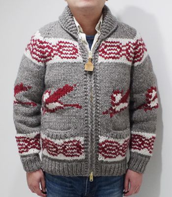 KANATA カナタ Made in CANADA|カウチン|6PLY WOOL『CANADA GOOSE COWICHAN SWEATER』【アメカジ・ワーク】CANADAGOOSE(Cardigan & Sweater)