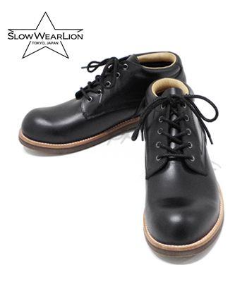 SLOW WEAR LION スローウエアライオン マッケイ|オイルドレザーオックスフォード『OILD LEATHER OXFORD』【ブーツ・アメカジ】OB-8958M(Boots)