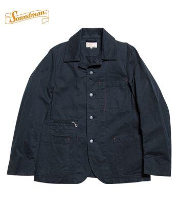 Soundman サウンドマン コットンドリル カバーオール『Birmingham Coverall』【アメカジ・ワーク】M374-580L(Other jacket)