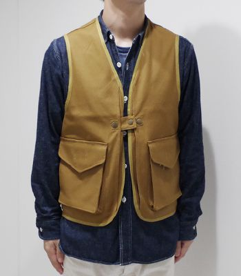 Soundman サウンドマン コットンダック|ハンティングベスト『Bernard Hunting Vest』【アメカジ・ワーク】163M-859M(Vest)