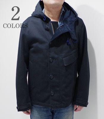 Soundman サウンドマン コットンウィップコード|ミリタリーフードパーカー『Cuper Military Parka』【アメカジ・ワーク】693M-955O(Other jacket)