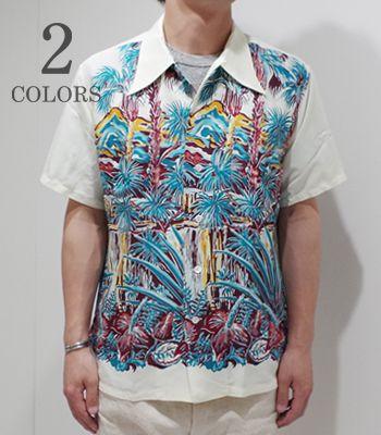 DUKE KAHANAMOKU デュークカハナモク Special Short Sleeve『ENCHANTING WATERFALLS』【洋柄・アロハ】DK37857(Aloha)