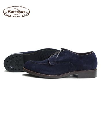 Rutt Shoes ラットシューズ Made in JAPAN Mastrotto Co. SUEDE グッドイヤーウェルト製法『SPLIT V TIP BOOTS』【ブーツ・アメカジ】8052S(Boots)(std-boots)