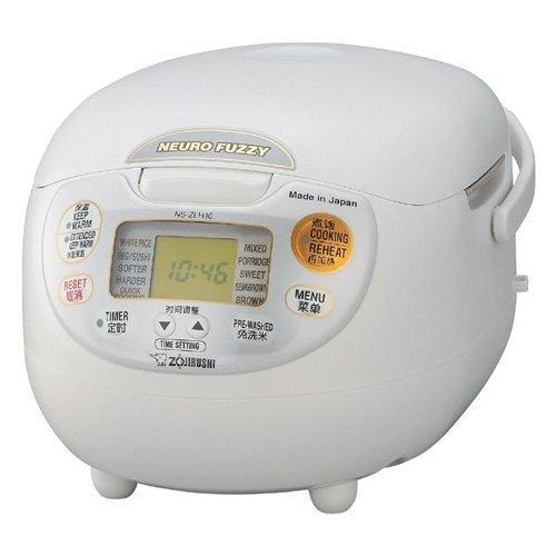 象印 ZOJIRUSHI NS-ZLH10-WZ [炊飯器ツーリストモデル220V]中国国内保証書付き