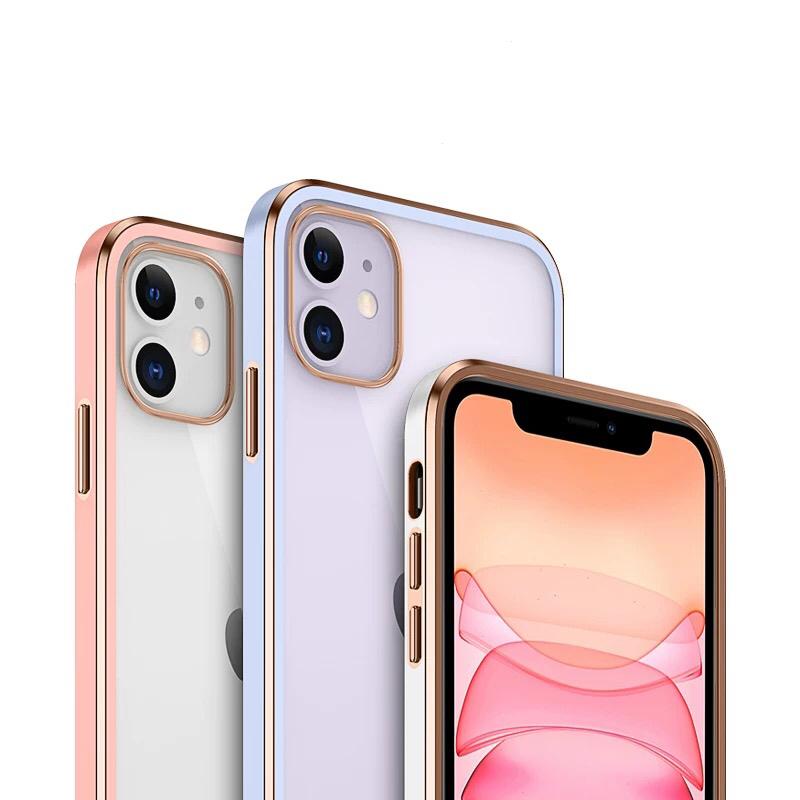 送料無料 カラーフレーム クリアTPU メタリックiPhoneケース 今なら充電ケーブル付 未使用 iPhone12 ケース iPhone本来のカラー mini iPhone12Pro iPhone12ProMax iPhoneSE 第2世代 フレーム 薄型 7Plus カラー iPhoneXS iPhone XSMax 11promax XR メタリック TPU iPhone8 購買