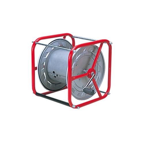 測量ロープ巻取器 [OT-1] ワイヤーロープ用 【測量用品】【測定用品】【河川 水面】【港湾測量用】【土木 建築】【測量機器】