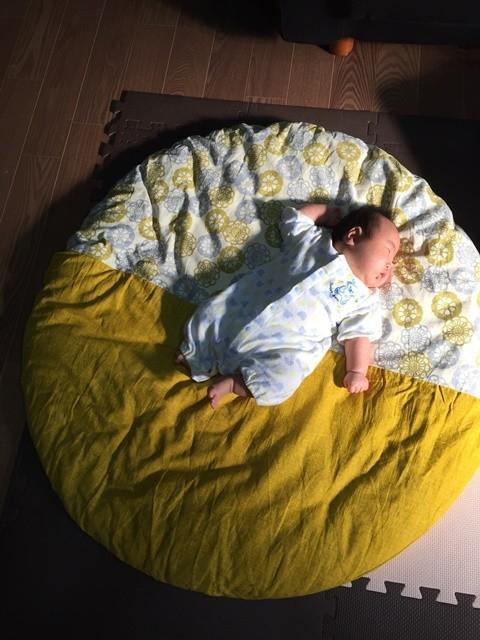 せんべい座布団 カバー付 カバー洗濯可能 約100cm ベビー 出産祝い 高岡屋