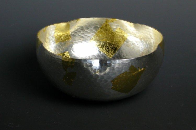手作り銅器 菓子器祥雲鉢