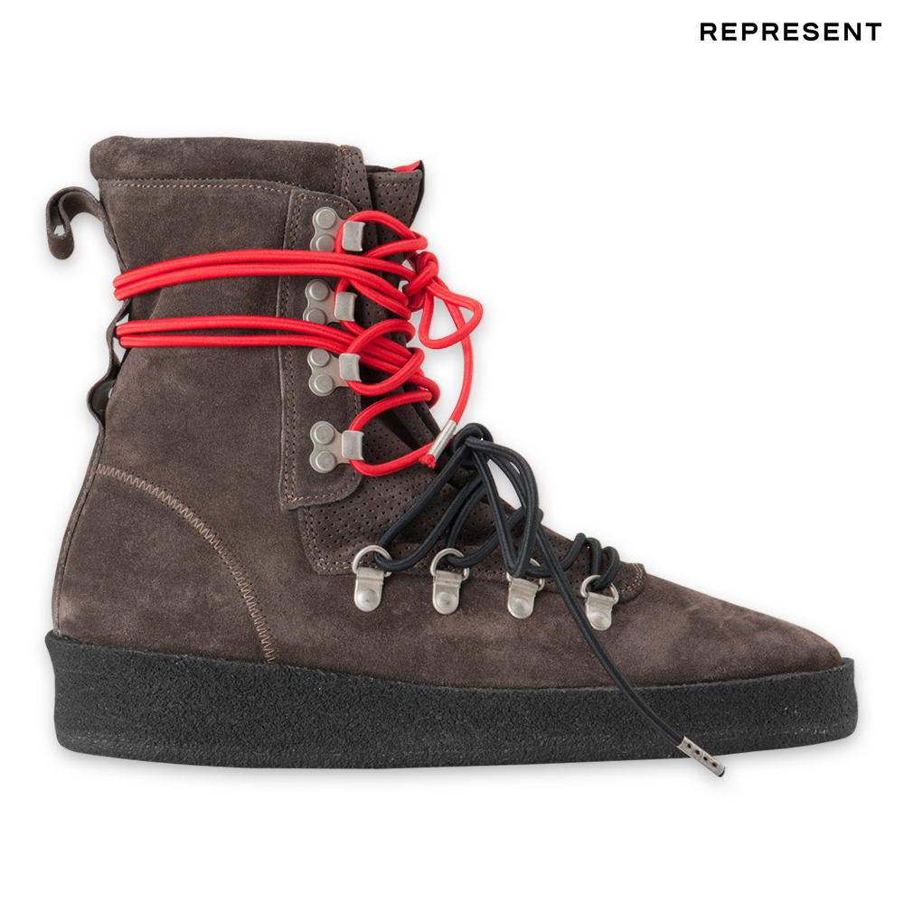 REPRESENT リプレゼント THE DUSK BOOT - GREY SUEDE ダスクブーツ グレー