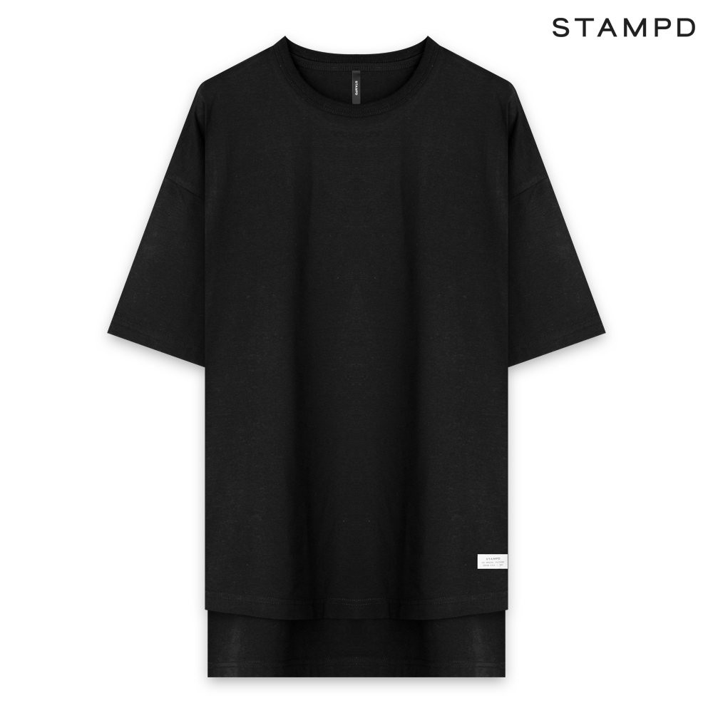 STAMPD   SS20 COLLECTION. STAMPD スタンプド DOUBLE LAYER TEE - BLACK ダブルレイヤー Tシャツ ブラック