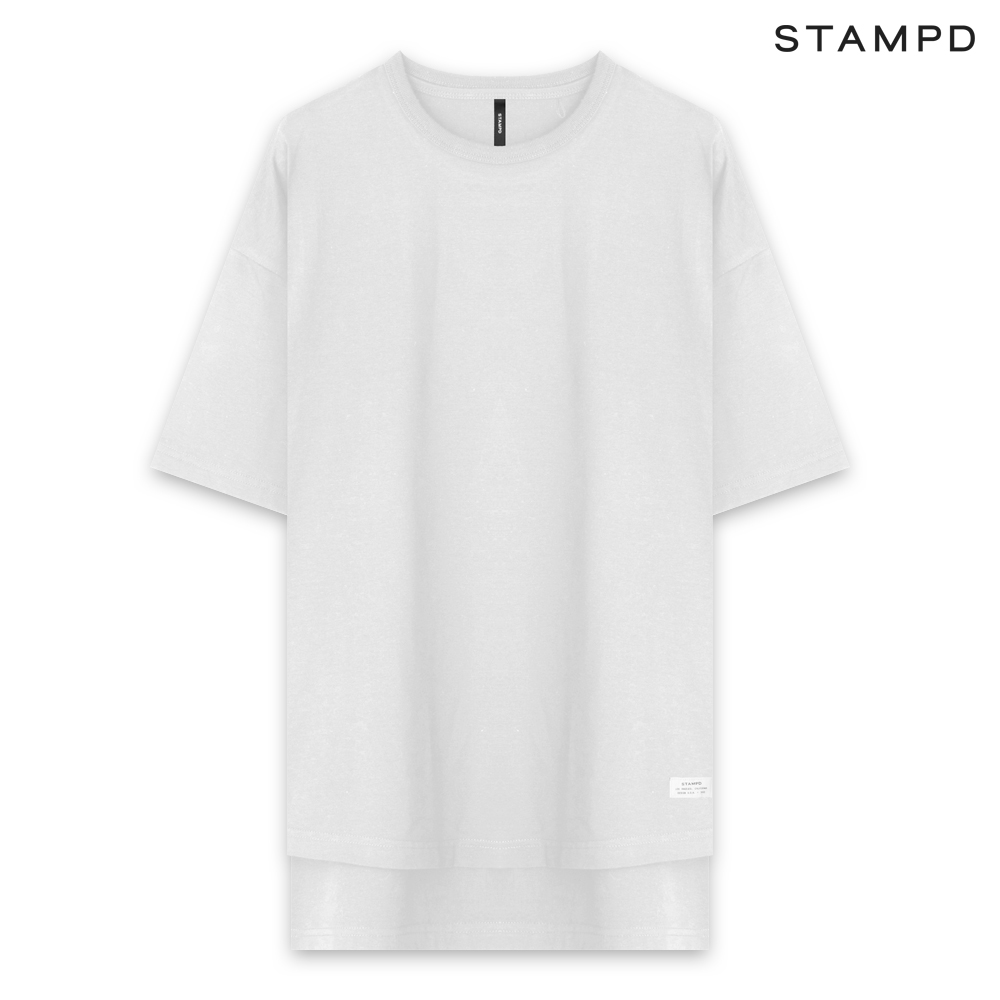 STAMPD スタンプド DOUBLE LAYER TEE - WHITE ダブルレイヤー Tシャツ ホワイト