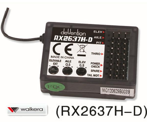 本物の ワルケラ (RX2637H-D) walkera Master Master CP用 6軸ジャイロ搭載 walkera 2.4Ghz受信機 (RX2637H-D) (HM-Master-CP-Z-26) ラジコンヘリ関連商品 walkera パーツ, カゴシマグン:011e422b --- canoncity.azurewebsites.net