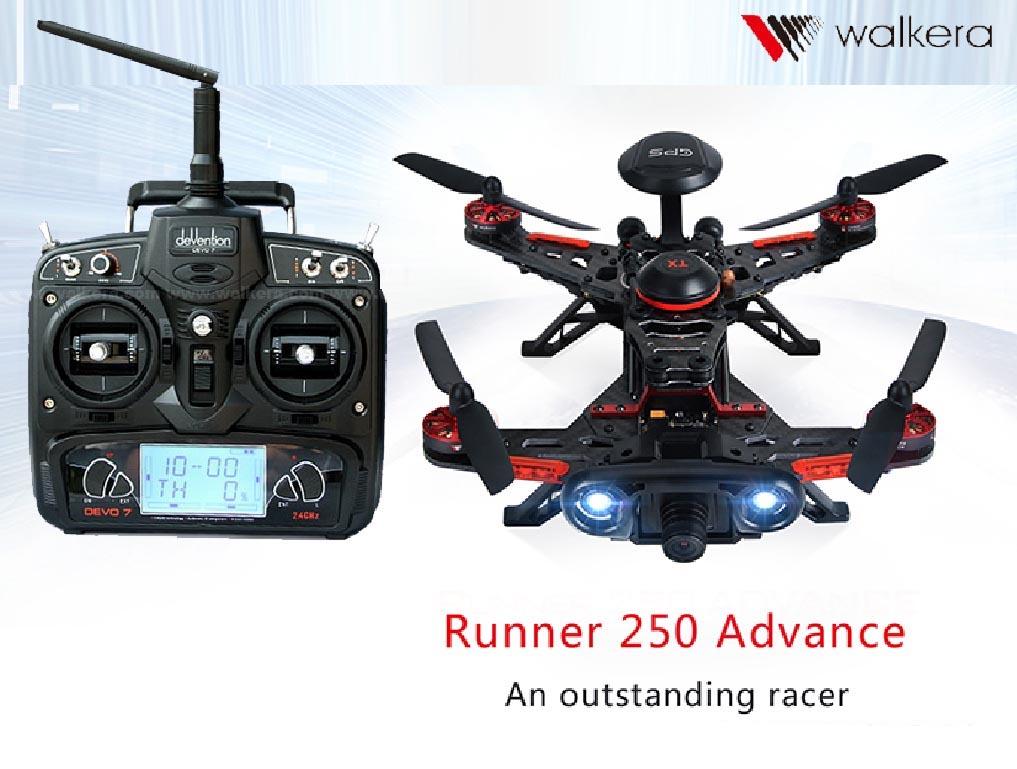 WALKERA ワルケラ ランナー RUNNRE 250 アドバンス + DEVO7 セット (mode1) GPS付き カメラ・OSD・映像トランスミッター (runner250ad-m1) 電波法国内認証済 日本語説明書付 ORI RC ドローン|ラジコン ヘリコプター ド 関連商品 walkera 本体セット