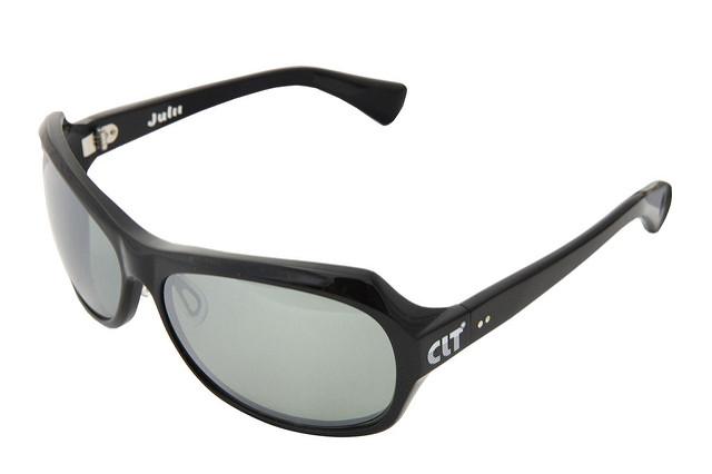 60サイズ|偏光サングラス サイトフィッシング サイクリング アウトドア ブラックXグリーンスモーク/シルバーミラー(clt-150980) アイウェア Julii CLT (ジュリー)