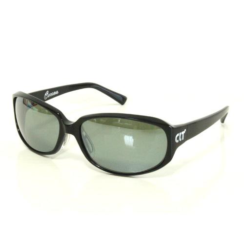 CLT Correa(コルレア)ブラックXグリーンスモーク/シルバーミラー(clt-151215) 60サイズ|偏光サングラス ナイトフィッシング エギング バスフィッシング