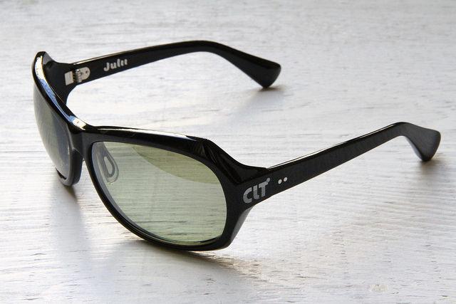 CLT プレミアム Julii(ジュリー) ブラックXハンターグリーン/シルバーミラー(clt-151871) 60サイズ