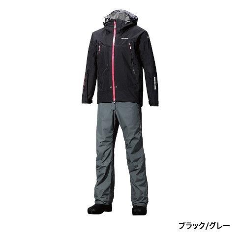 シマノ DSアドバンススーツ RA-025P ブラックグレー XL