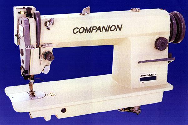 高速1本針本縫いミシンのコンパニオン