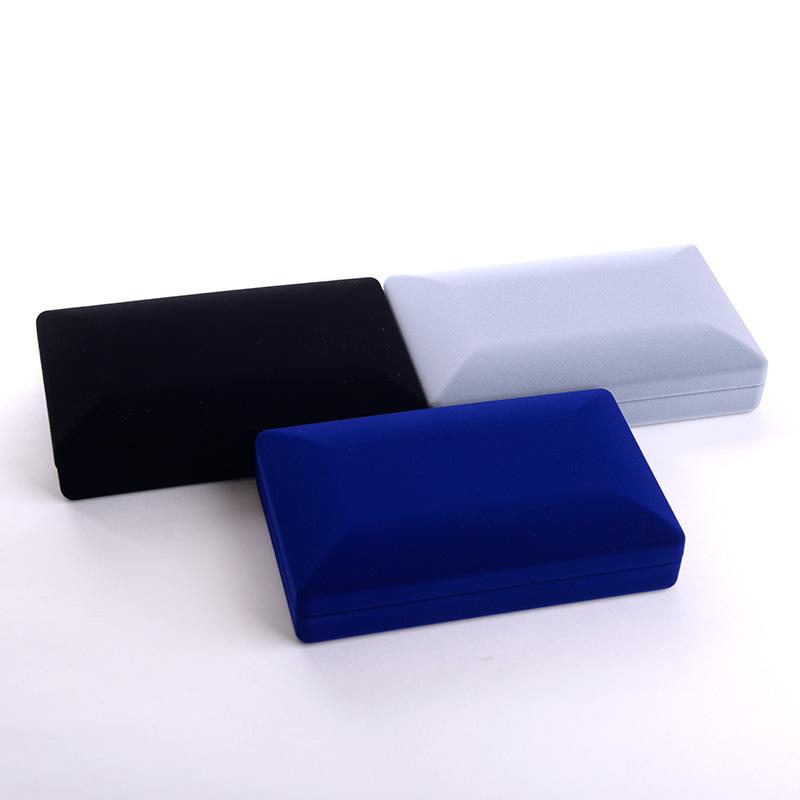 あす楽対応 【あす楽対応】ワイドアクセサリー化粧箱 ベロアタイプ ブライダルネックレス イヤリングピアスセットに適合します