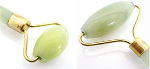 smtg0401翡翠(翡翠)美容滾柱天然球美容滾柱臉滾柱按摩指壓代行工具