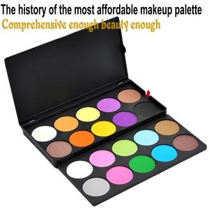 Professional eyeshadow palette, makeup palette 20 colors MEP-20P (eye shadow)