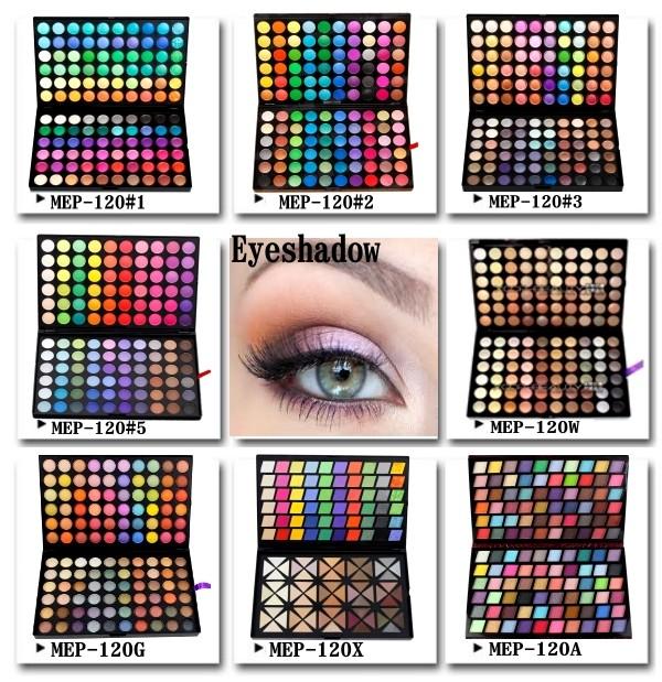 临规格眼影调色板,化妆调色板,眼睛调色板 120 颜色 MEP 120A