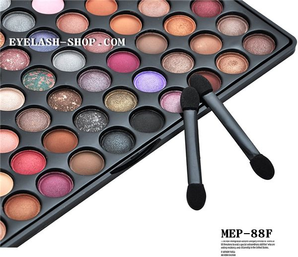 Professional eyeshadow palette, makeup palette, eyes palette 88 color MEP-88F (eye shadow)