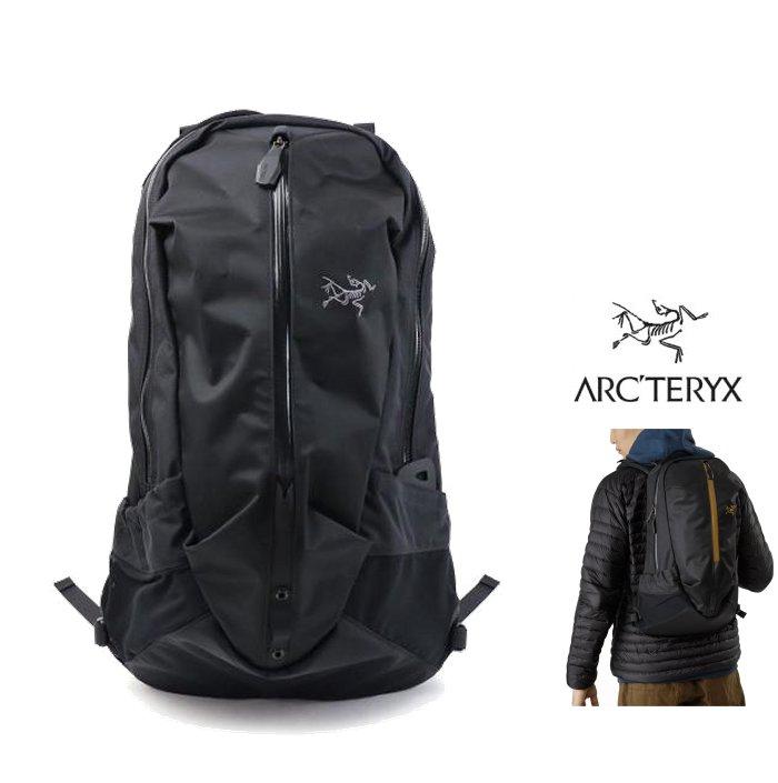 ARCTERYX 【 アークテリクス 】Back Pack【 ARRO 22 】 アローDAYPAC・バックパック・リュックcolor【 Stealth Black 】ブラック