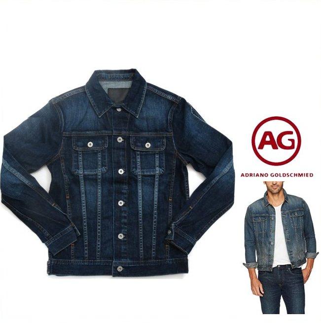 AG JEANS【 アドリアーノゴールドシュミット 】Dart Denim Jacket 10YEARSストレッチ・デニムジャケットColor:10Y【 10YEAR Vintage 】インディゴ