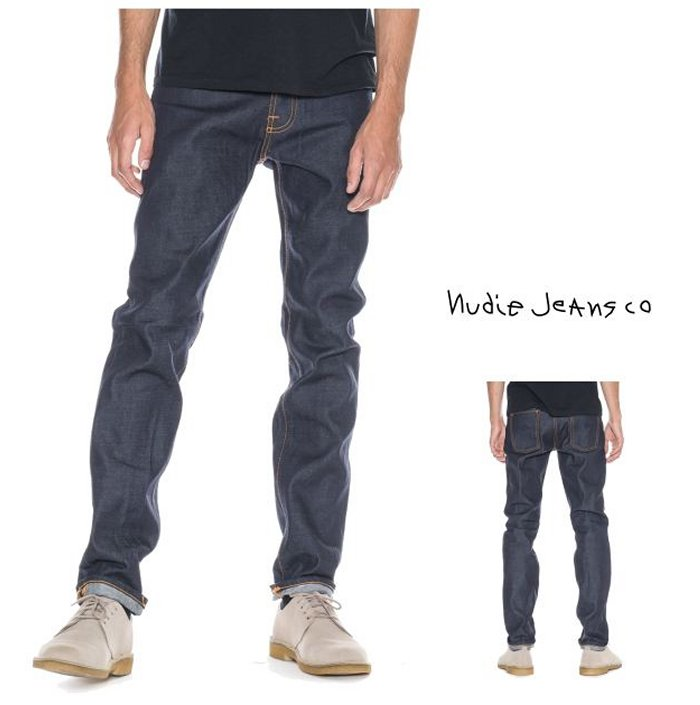 Nudie Jeans112218【 STEADY EDDIE 】 ステディーエディーREGULAR / STRAIGHT FITcolor:652【 DRY TWILL NAVY 】ドライ・インディゴ