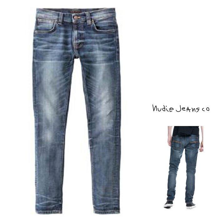 Nudie Jeans【THIN FINN】シンフィン1129490 940 DENIM JEANS MAYOR REPLICAlow yoke thin skinny legcolor:N940 MAYOR REPLICA【 Organic Blue 】インディゴ