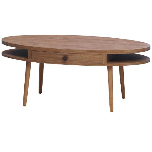 アルム センターテーブル<ウォルナット> P23Jan16