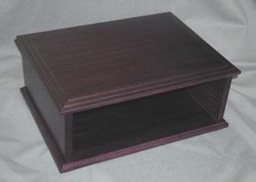 50弁/72弁用 共鳴箱 響鳴箱 濃い茶色 特別価格 (内部空洞)オルゴール用 プレゼント