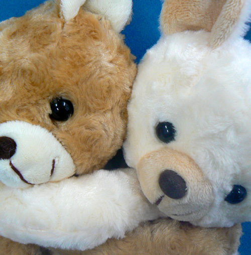 Orugoruya Mecha Love In Bear Animal Music Box Stuffed Animal