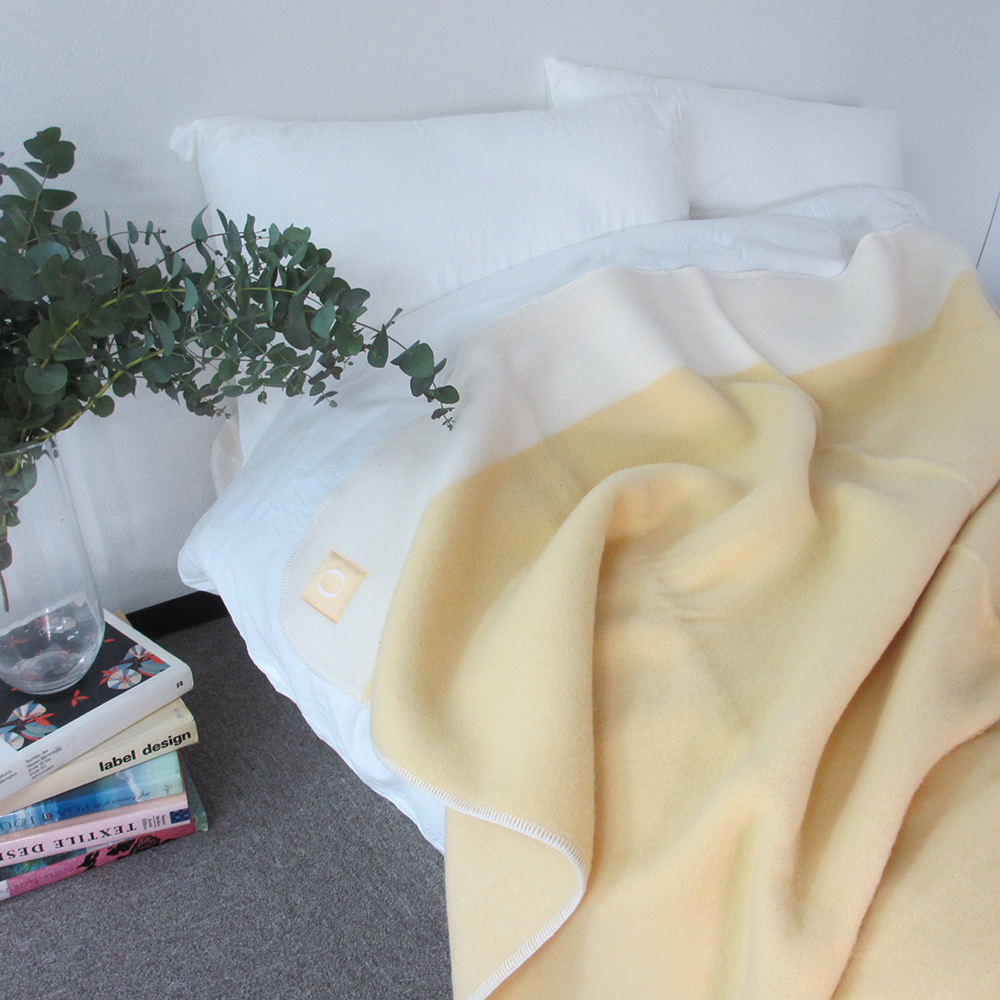 大津毛織 スポンディッシュウール ブランケット 毛布 シングル 日本製 送料無料
