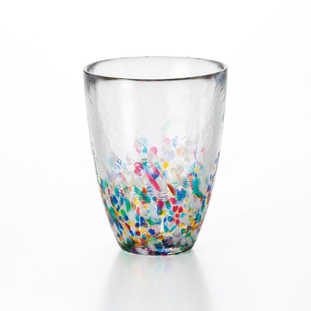 津軽びいどろ ガラスの透明感と多彩な色が響き合うタンブラー タンブラー 送料無料カード決済可能 NEBUTA 日本製 ねぶた ギフ_包装 グラス コップ 酒器 ハンドメイド 伝統工芸品 ガラス細工 ガラス工芸 アデリア 日本 色彩 ねぶた祭り 透明感 色鮮やか 四季 ガラス食器 ガラス