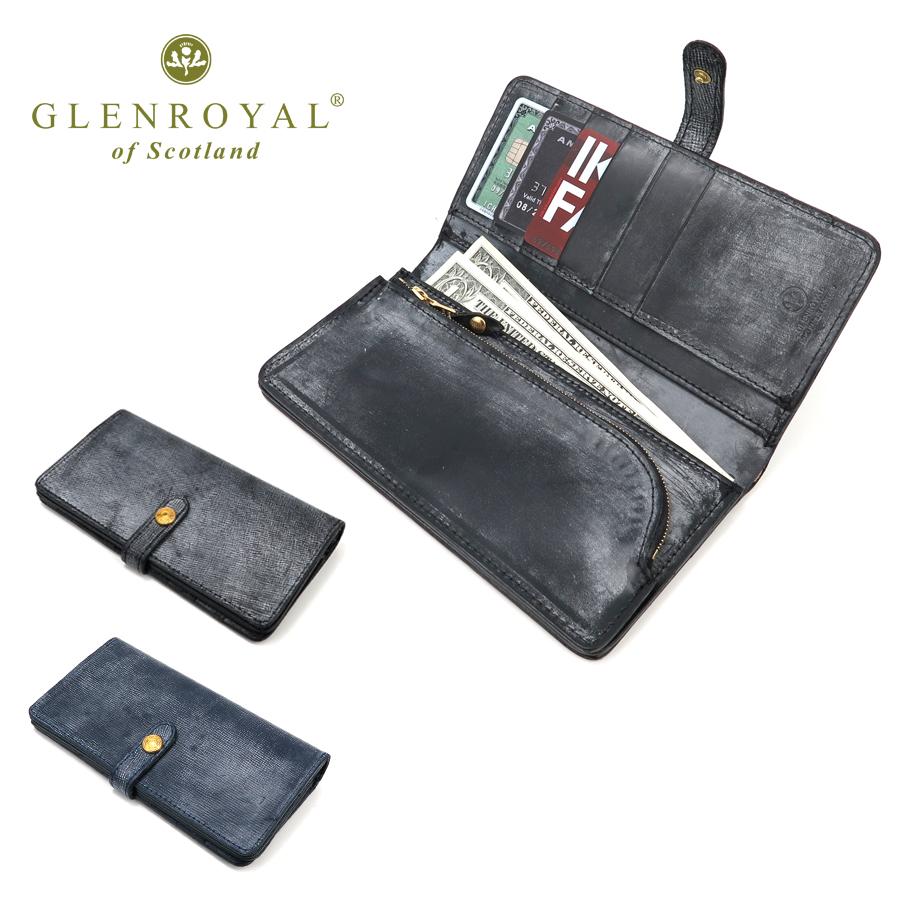 グレンロイヤル GLENROYAL LB03-6178 フルブライドルレザー 長財布   財布 メンズ ブランド ウォレット ロングウォレット レイクランドブライドル プレゼント 彼氏 L字 メンズ財布 デザイン 小物 ギフト 長サイフ