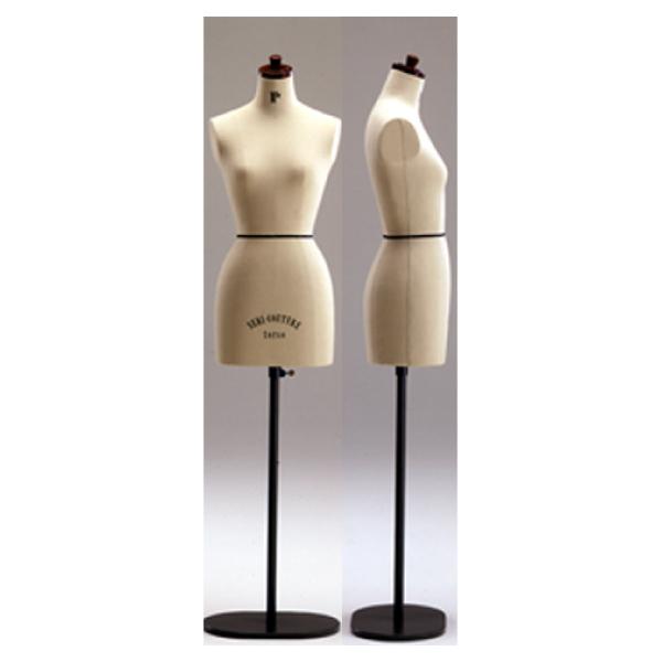 キイヤ マドモアゼル・トールタイプ SC-106-1S(Kiiya トルソー スタンド マネキン ボディ 立体裁断 ドレーピング ドレープ ドレス ウエディングドレス スーツ オーダーメイド ディスプレイ キイヤ 洋裁道具 洋裁 )