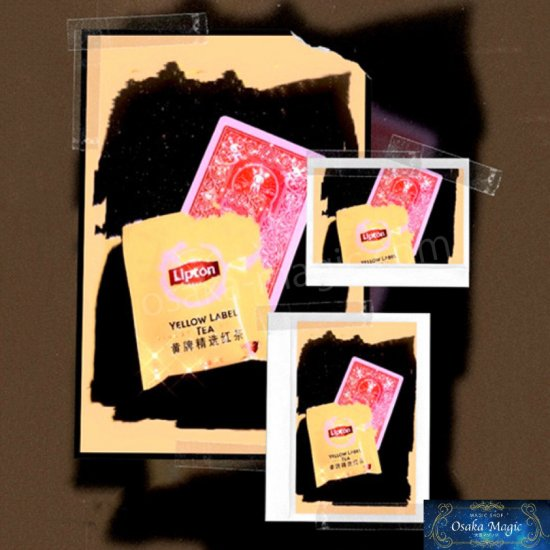 カードが一瞬でティーバッグに 至上 ? カードtoティーバッグ~Card to Bag~ 年末年始大決算 Tea